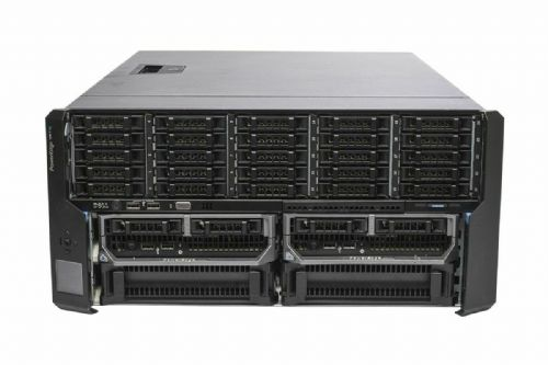 Dell PowerEdge VRTX Rack Chassis 25x Bay 2x M630P 2x E5-2620v3 32GB Ram 2x 146GB
